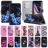 Pattern Leather Flip Card Wallet Stand Slim Case Cover For Samsung Galaxy Note 9