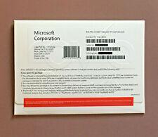 Microsoft Windows 10 Pro Professional 64 Bit Full Version DVD & product Key w/HD