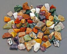 1 kg bunt gemischte EDELSTEINE Rohsteine Mineralien Schleifsteine  20 - 30 mm