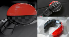OEM MINI Cooper JCW Pro Side Mirror Replacement Covers Set Pair AND Key Cap