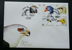 Portugal Birds 2001 Aves Prey Wildlife Fauna (stamp FDC)
