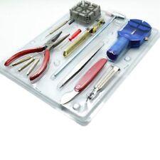 Watch Repair Tool Kit Band Strap Link Remover Back Opener Screwdriver 16 pcs UK