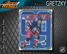 """Wayne Gretzky """"The Great One"""" New York Rangers Mouse Pad - MIP"""