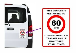 Vehicle Limited To MPH (You choose Speed) & Has A Tracker Fitted & Monitored etc
