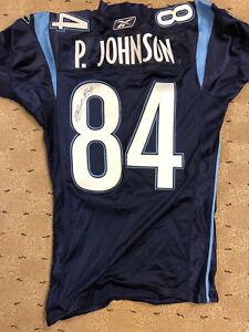Patrick Johnson Toronto Argonauts Game Worn Game Used Jersey CFL Signed