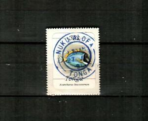 TONGA Scott's 574 ( 1v ) Fish F/VF Used ( 1984 ) #2