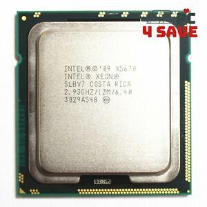 Intel Xeon X5670 SLBV7 2.93 GHz Six Core 12M LGA-1366 Server CPU Processor 95W