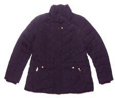 Jones New York Women Quilt Down Puffer Jacket Coat Black L NEW/missing hood