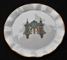 "Vintage CAVERSWALL Fine Bone China England Blue Center Image 4 1/4"" Small Plate"