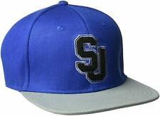 Sean John Men's Baseball Cap, Embroidered Logo, Royal Blue, Flat Bill