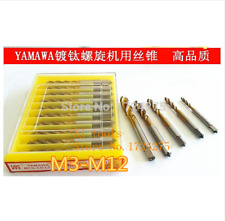 M3 m4 m5 m6 m8 m10 m12 7pcs yamawa HSS thread TAP SPECIAL stainless steel wire