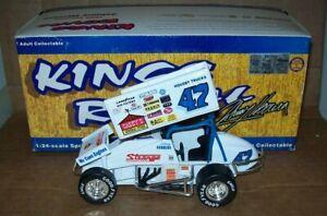 JOHNNY HERRERA #47 KINGS ROYAL CHAMP 96 1/24 ACTION SPRINT CAR DIECAST CAR 4008
