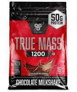 BSN TRUE-MASS Weight Gainer Muscle Mass Gainer Protein Powder Chocolate Milks...