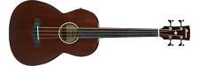 Ibanez AVNB1FE-BV Parlor Acoustic/Electric Bass Guitar (Brown)