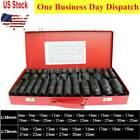 """35pcs 1/2"""" Deep Impact Socket Set Drive 8-32mm Metric Garage Sae With Case"""