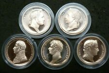 Waterloo 200 Years 1815-2015 Bronze Proof Medallions Napoleonic Wars: See Menu