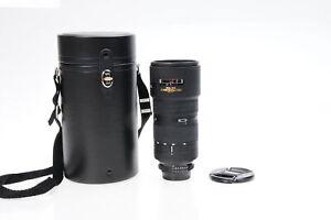 Nikon Nikkor AF 80-200mm f2.8 D ED Lens w/Tripod Mount #459
