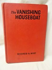 Vanishing Houseboat Mildred A Wirt 1st edition Hardcover Mystery Thriller Novel