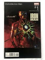 Invincible Iron Man Comic #1 (Marvel, 2015, 50 Cent Hip Hop Variant Cover) NM A