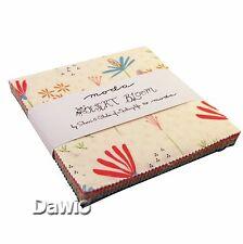 "Charm Pack ""Desert Bloom"" bunt Blumen Moda Patchwork Stoff 42 Scraps à 12,7cm"