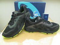 ASICS GEL GT-2000 6 LITE SHOW MENS BLACK RUNNING TRAINERS SIZE UK 11.5  EURO  47