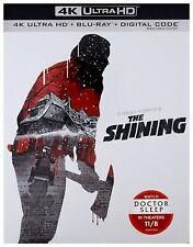 The Shining (4K Ultra HD + Blu-ray + Digital)  W/SLIP COVER