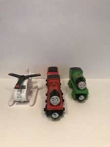 Wooden Thomas And Friends James Percy And Harrod Very Good Condition