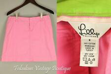 LILLY PULITZER Barbie Pink Twiggy MOD Scooter Mini Skirt 6