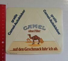 Aufkleber/Sticker: Camel ohne Filter ...auf den Geschmack fahr ich ab (18111630)