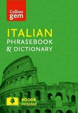 Collins Italian Phrasebook and Dictionary Gem Edition Essential... 9780008135911