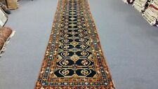 Heriz/Sarab Antique Handmade Wool Hall Runner/Rug 3.9 X 14.0