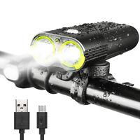 Gaciron Bicycle Front Light USB Rechargeable 1600 Lumen Bike Waterproof 5000mAh