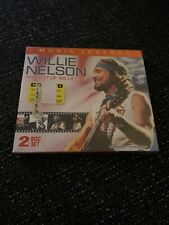 WILLIE NELSON Music Legends The Best Of Willie Live CD DVD NEW Sealed Country