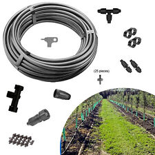 Orchard Kit S Drip Irrigation Water System 25 emitters Vineyard Garden Nursery