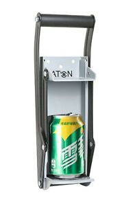 Heavy Duty Metal Can Crusher/Bottle Opener, up to 16OZ Cans Beers Soda
