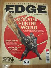 EDGE Magazine #313 Christmas 2017 MONSTER HUNTER WORLD + Assassins Creed