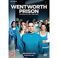 WENTWORTH PRISON COMPLETE SEASON 5 DVD Fifth 5th Series Five UK Brand New R2