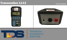 [USED] Transmation 1143 4-20 mA Calibrator + NIST Calibration Cert