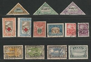 Estonia. A selection of Mint/used total 13 values. Clean lot