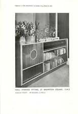 1952 Raccordo di archiviazione muro, 57, Brompton quadrato, SW3: M Lyell