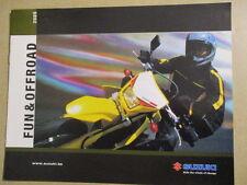 CATALOGUE MOTO : SUZUKI : GAMME FUN & OFF ROAD 2005