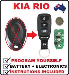 1 REMOTE Control FOB key less entry suitable for KIA RIO JB PREGIO  1998 - 2011