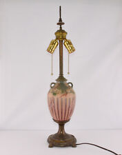 """Roseville Cherry Blossom Factory Lamp (24"""" Tall)"""