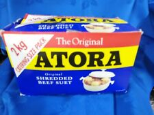 Atora Shredded Beef Suet Catering Size - 2kg - Free Postage