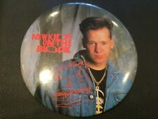 Vintage New Kids On The Block Donnie Wahlberg 1989 Button-up 6� Pin