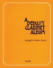 A Debussy Clarinet Album New 014008520