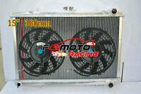 3 Row Alu Radiator For Nissan Skyline GTR GTS-4 GTS-T R32 BNR32 HCR32 ECR32 RB26