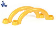 Kinderspielgeräte | Kunststoffgriffe | Blue Rabbit | 1 Paar | Gelb