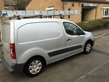 2008 - 2016 Peugeot Partner PVC Steel Roof Rack Bars Rails 3 Bar System