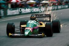 Thierry Boutsen Benetton B187 autrichien Grand Prix 1987 PHOTO